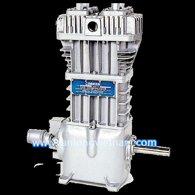 máy nén gas lpg 491 corken air compressor - tanlongvietnam.com