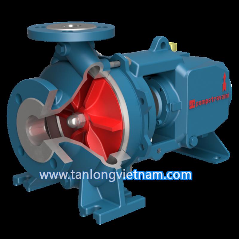 bơm ly tâm tct series travaini centrigufal pump - tanlongvietnam
