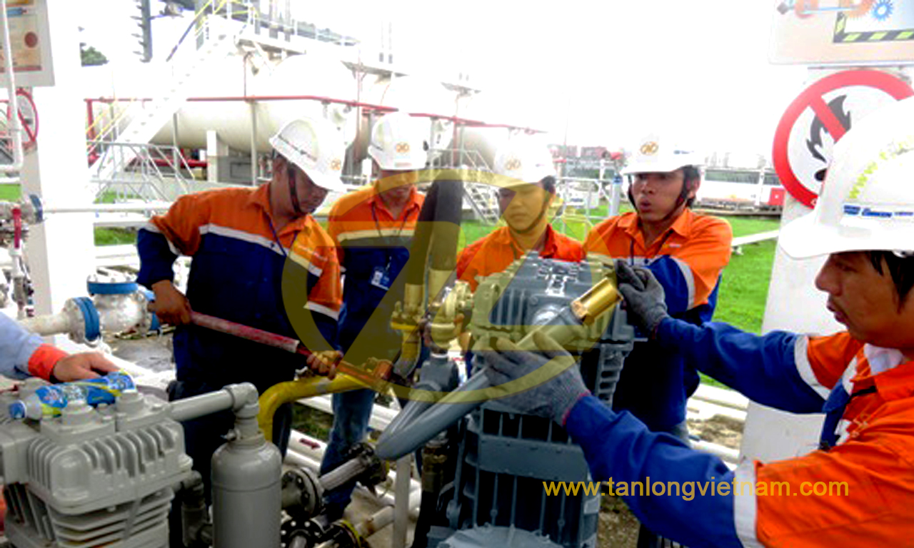Dự án bơm cánh gạt LPG Corken vane pumps project - tanlongvietnam