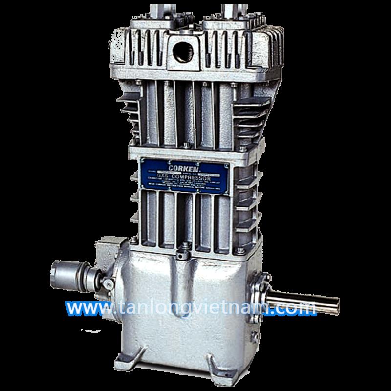 máy nén gas lpg 691 corken air compressor - tanlongvietnam.com