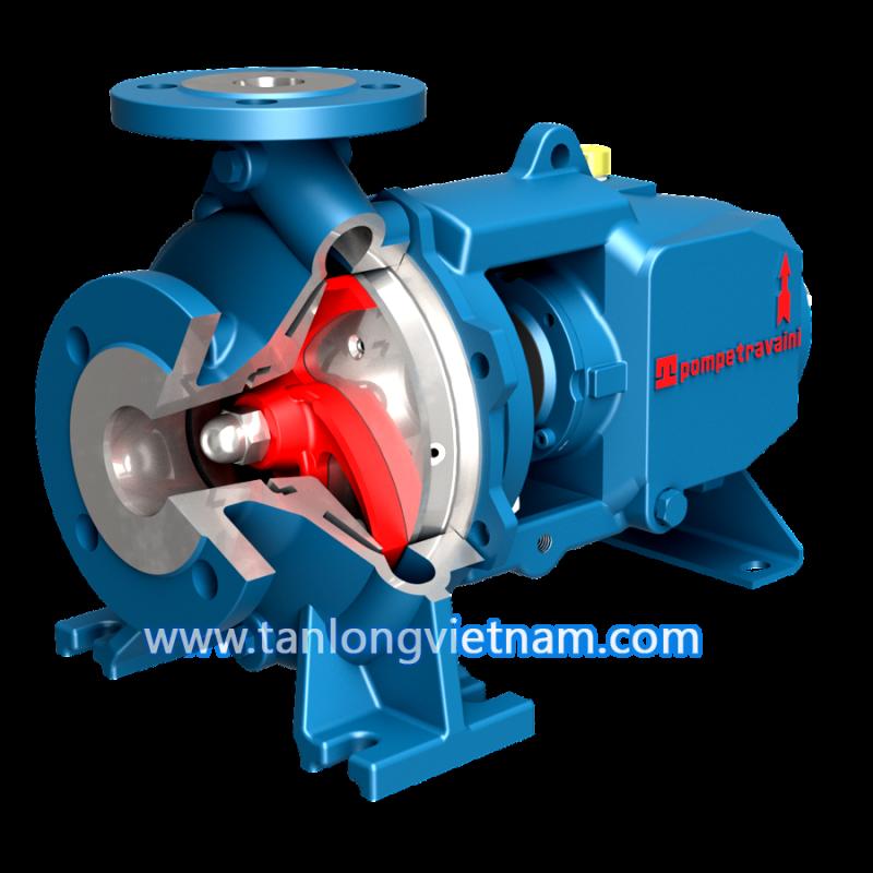 bơm ly tâm tca series travaini centrigufal pump - tanlongvietnam