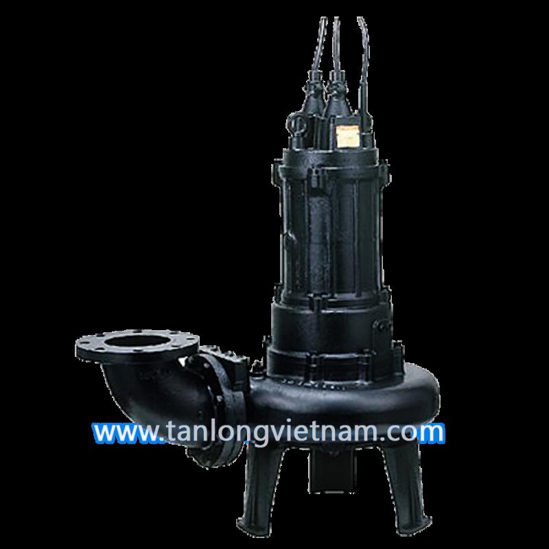 máy bơm chìm tsurumi b series sewage pump - tanlongvietnam