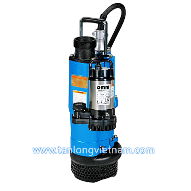 máy bơm chìm tsurumi nk2 mining industrial pump - tanlongvietnam