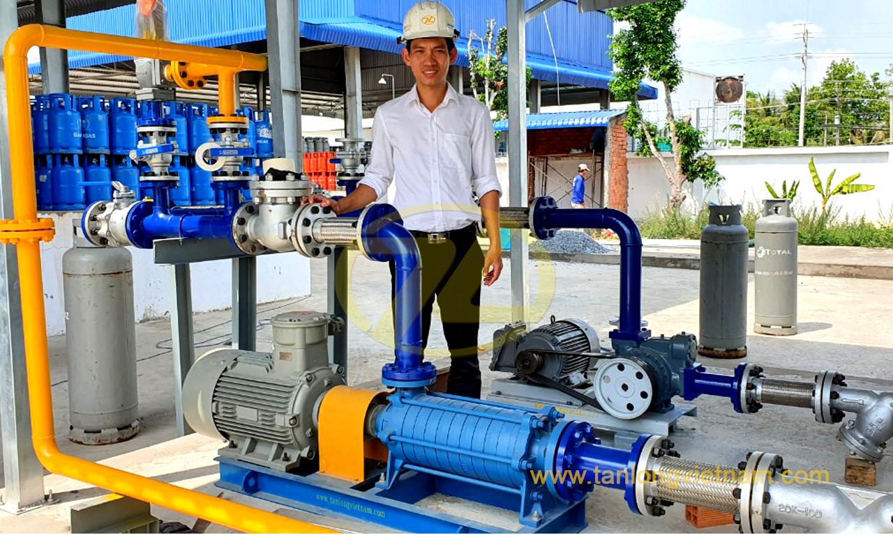 dự án máy bơm công nghiệp travaini pumps projecct - tanlongvietnam
